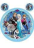 Frozen Die Eiskönigin, Essbares Foto für Torten, Tortenbild, Tortenaufleger Ø 20cm - Super...