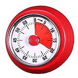 60-Minuten-Cook-Timer-Countdown Magnetischer langer Ring Lauter Glockenalarm Elektronischer...