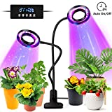 tronisky LED Pflanzenlampe, Pflanzenlicht 18W 36 LEDs Pflanzenleuchte mit Automatische...