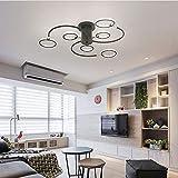 Sunny Lingt LED-Deckenleuchten, moderne Metall-Lampe Acryl-Panel-Beleuchtung-Befestigung,...
