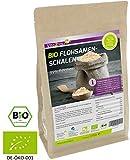 BIO Flohsamenschalen 99% Reinheit 1000g - Zippbeutel - 100% Bio Anbau - 1kg indische Flohsamen...