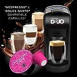 Caffeluxe Duo Maschine, kompatibel mit Nespresso und Dolce Gusto Pods in einer Maschine Duo Maschine...
