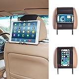 Universal Smartphone & Tablet PC Kfz Halterung Kopfstütze Halterung Auto für Apple iPhone 6 und 6...