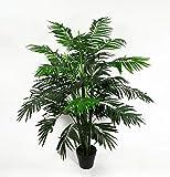 Seidenblumen Roß Arekapalme 120cm ZJ künstliche Pflanzen Palmen Palme Kunstpalmen Kunstpflanzen...