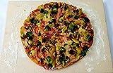 40 x 30 x 2 cm Schamottplatte Pizzaplatte Backofenplatte Schamottstein Schamott Schamotte...