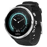 Suunto 9 GPS-Sportuhr mit langer Batterielaufzeit und Herzfrequenzmessung am Handgelenk, Schwarz,...