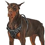 Lesure Hunde Geschirr verstellbar Brustgeschirr - Anti Zug Hundegeschirr atmungsaktiv Welpengeschirr...