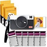 Kodak C210R Mini Shot Combo 2 Retro, Sofortbild-Kamera und Taschendrucker, Bluetooth, iOS und...