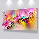 N / A lgemlde Wohnzimmer Leinwanddrucke rahmenlose Wand Moderne Dekoration abstrakte Kunst Malerei...