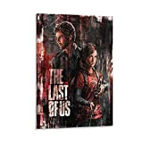 wengxin Poster 'The Last of Us', 2 Leinwandkunst, Poster und Wandkunst, Bild, Druck, modernes...