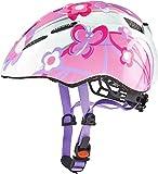 Uvex Kinder Kid 2 Fahrradhelm, Butterfly, 46-52 cm