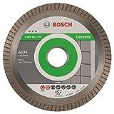 Bosch Professional Diamanttrennscheibe Best for Ceramic Extraclean Turbo zum Schneiden von harten...