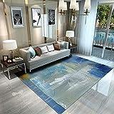 HIGHKAS Soft Floor mats,Modern Area Rugs,Living Room Carpet,Washable Non-Slip Comfortable Home Rugs...