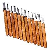 Holzmeißel Werkzeugset, Imitation Mahagoni Holzbearbeitung Schnitzwerkzeuge Handgefertigte Meißel...