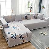 YANFEI High Stretch Sofa Überwürfe,Anti-Slip Sofaschoner,Universal Waschbar Sofa Abdeckung,Spandex...