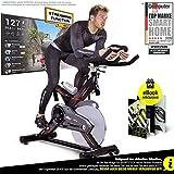Sportstech Profi Indoor Cycle SX400 – Deutsche Qualitätsmarke- mit Video Events & Multiplayer...