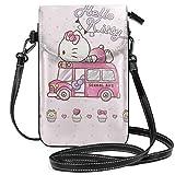 Damen Umhängetaschen – Hello Kitty Schulbus kleine Handybörse Portemonnaie mit...