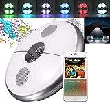 BLOOMWIN LED Schirmleuchte Sonnenschirmleuchte RGB LED Regenschirm Leuchte mit Bluetooth 3.0...