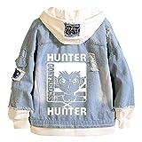 Yesgirl Hunter X Hunter Jacke Killua Herren Damen Killua und Gon Hoodie Denim Jacket Unisex Anime...