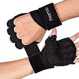 FREETOO Fitness Handschuhe Atmungsaktive rutschfeste Trainingshandschuhe Sport Handschuhe mit...