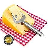 Redcolourful Edelstahl Käsehobel Butter Schneidebrett Küchenwerkzeug