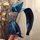 NO LOGO LMY-TOUDAI, Korea Blumen Hand Made Kristall Stoff Retro Haarschmuck Diamant Haarband Hair...