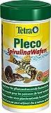 Tetra Pleco Algae Wafers (Hauptfutter mit Spirulina-Algen für algenweidende Bodenfische), 250 ml...