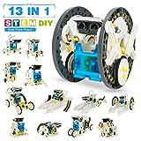 Pickwoo Solar Roboter Bausatz Set Kinder,STEM Spielzeug Konstruktion Bauset,Educationall...
