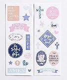 Dayspring illustrierter Glaube illustrierender Bibelplaner Zubehör Hope Set mit 2 Stickerbögen
