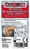 Klammerpflaster Wundnahtstreifen Strips Steril - Nahtmaterial Wundverschluss-Streifen Steril 6 x 100...