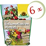 Oleanderhof Sparset: 6 x NEUDORFF Azet BalkonpflanzenDünger, 750 g + gratis Oleanderhof Flyer