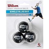 Wilson Squash-Ball, Staff, 3 Stck, Blau, Schwarz, WRT618000