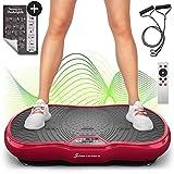 Sportstech Vibrationsplatte VP200 mit Bluetooth, innovativer Oszillationstechnologie für zu Hause,...
