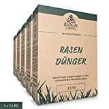 NPK Spezial-Rasendnger Bloom & Green (5 x 2,5 kg) I NPK Rasen-Dnger mit Magnesium & Schwefel fr...