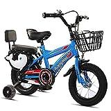 LLF Kinderfahrräder, Mädchen Fahrrad, 12 14 16 16 Zoll Kinderfahrrad Mit Trainingsrädern Oder...