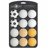 GOODS+GADGETS 12x Stück Speedball Kickerbälle für Tischfussball Tischkicker Kicker-Ball Set...