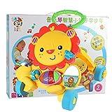 RHSMQ Fun Lion Walker und Lauflernhilfe Mit Lustigen Spielen, Music Baby Walkers für Mehr als 6...