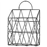 dsfsdf Nordischer minimalistischer Stil Eisen Desktop-Metall, Zeitungsregal Zeitungsregal...