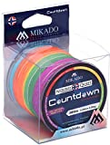 Mikado Norway Quest Countdown, rund geflochtene, mehrfarbige Angelschnur, von 0,16mm (12,6kg) bis...