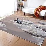 KFEKDT Europa und die vereinigten Staaten 3D Dinosaurier große Carpet Wohnzimmer Bereich Carpet...