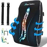 Lendenwirbelstützkissen für Bürostuhl, Rückenkissen aus Memory-Schaum zur Schmerzlinderung im...
