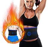 N-PIR Premium Schwitzgürtel I Verbesserter Bauchweggürtel zur Fettverbrennung I Verstellbarer...