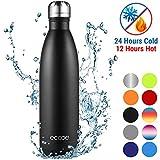 Ecooe Thermosflasche 750ml Doppelwandig Trinkflasche Edelstahl Wasserflasche Vakuum Isolierflasche...