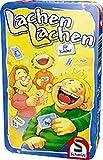 Schmidt Spiele 51209 Lachen, Bring Mich mit Spiel in der Metalldose, bunt
