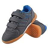 TIESTRA Multisport Indoor Schuhe Jungen Hallenschuhe für Fußball Kinder Sneaker mit...