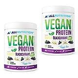 2x ALLNUTRITION Vegan Protein 500g   Vanille-Schwarze Johannisbeere   Whey Eiweißpulver Abnehmen  ...