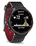 Garmin Forerunner 235 Schwarz und Marsala-Rot - GPS-Laufuhr mit Herzfrequenzmessung am Handgelenk,...