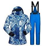 Acant Winter Skianzüge, Herren Einzel Und Doppel Board Wasserdicht und Atmungsaktiv Set (Ski-Jacken...