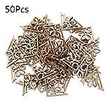 Gszfsm001 Holzverzierung, Geschnitten, 50 Stck