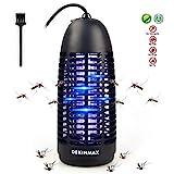 DEKINMAX Elektrischer Insektenvernichter, UV Insektenvernichter Mückenlampe Schutz vor Elektrischem...